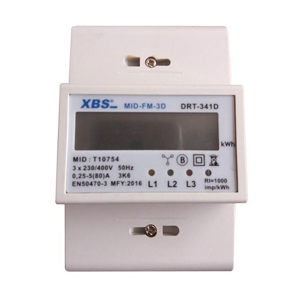 Třífázový elektroměr na DIN lištu s MID certifikátem